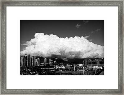 Framed Print featuring the photograph Consumed by JM Photography