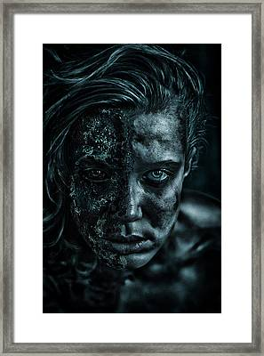 Contamination Framed Print by Eugene Volkov