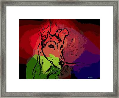 Contemplation Framed Print by George Pedro
