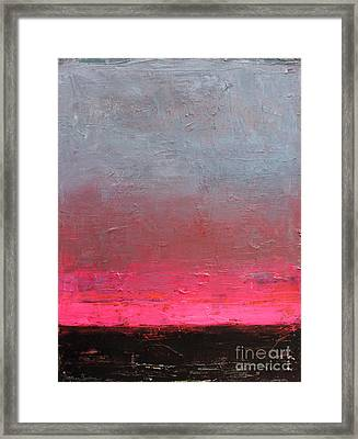 Contemporary Abstract Painting Framed Print by Svetlana Novikova