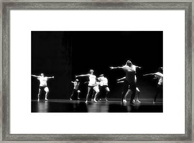 Contemporary Dancers Framed Print