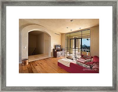 Contemporary Living Room Framed Print