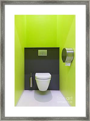 Contemporary Toilet Framed Print