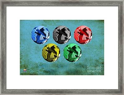 Continental -1 Framed Print by Vidka Art