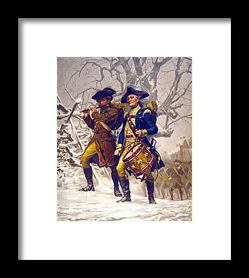 Soldiers Framed Prints