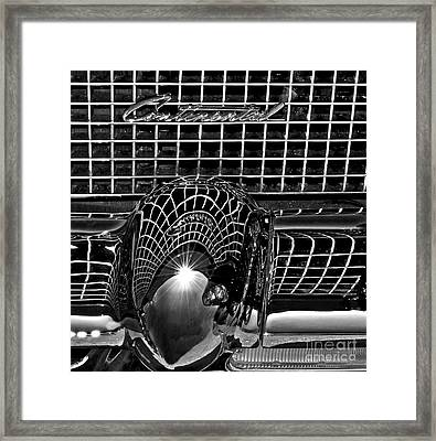 Continental Chrome Framed Print by Gwyn Newcombe