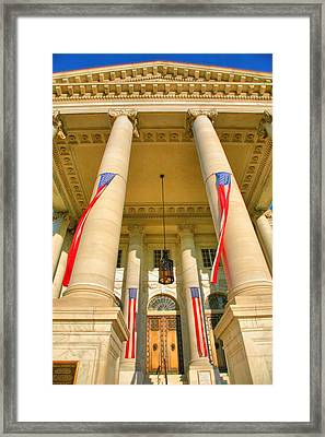 Continental Memorial Hall Framed Print by Steven Ainsworth