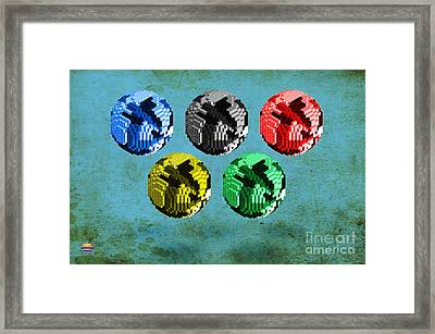 Continental Framed Print by Vidka Group