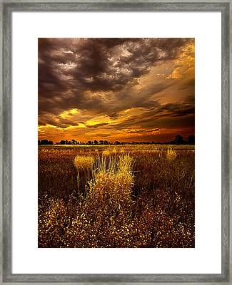 Continuance Framed Print
