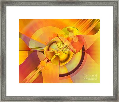 Continuous Color Framed Print by Michelle H