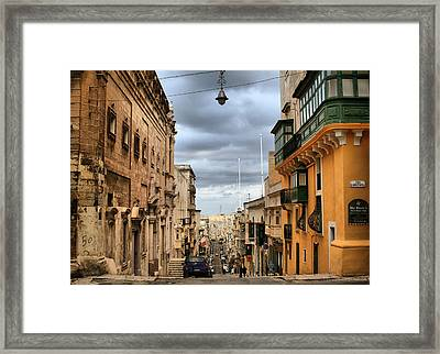 Contradiction Framed Print by Emile Ibrahim