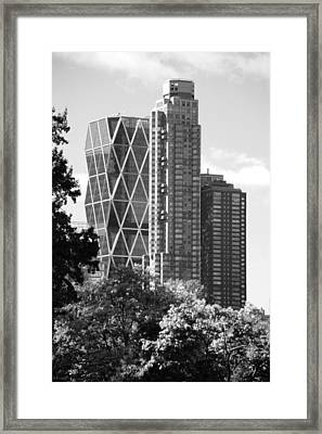 Contrast In Black And White Framed Print by Rob Hans