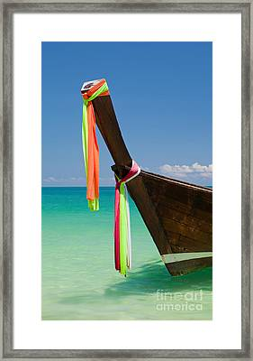 Contrasts Of Asia Framed Print