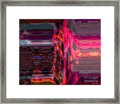 Control Framed Print by Fania Simon