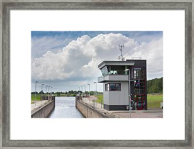 Control Room Framed Print by Semmick Photo