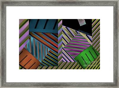 Conundrum Of Color Framed Print by Robert Meanor