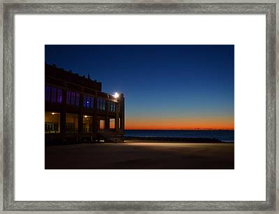 Convention Hall  Asbury Park Framed Print