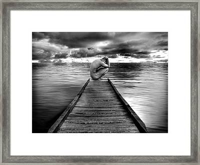 Convergence Framed Print by Chance Manart