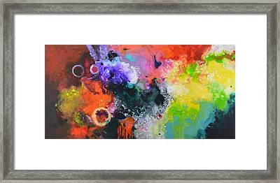 Convergence Framed Print by Sally Trace