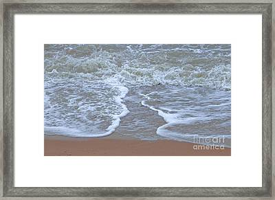 Converging Paths Framed Print by Cindy Lee Longhini