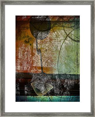 Conversation Decline Framed Print by Jerry Cordeiro