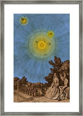Conversations On The Plurality Framed Print by Science Source