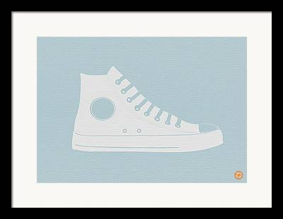 Converse Framed Prints