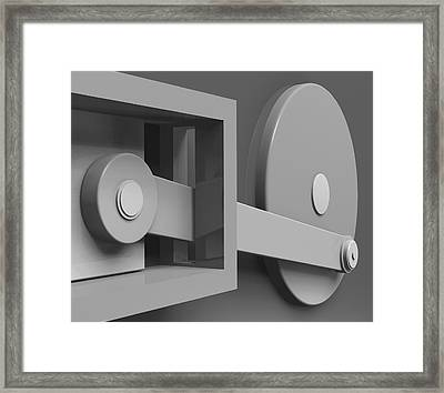 Conversion Framed Print by Richard Rizzo