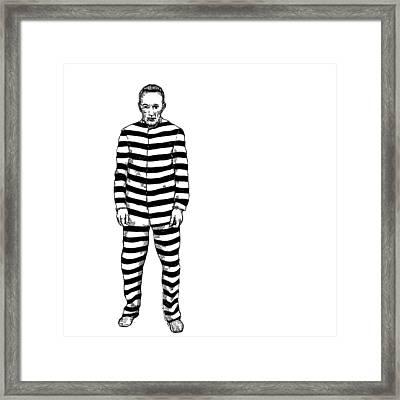Convict Framed Print