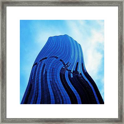 Convolution Framed Print by Cameron Bentley