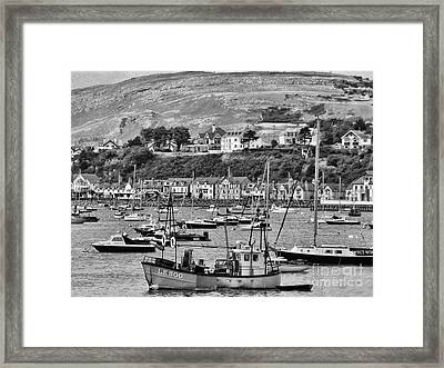 Conway Bay 2 Framed Print by Graham Taylor