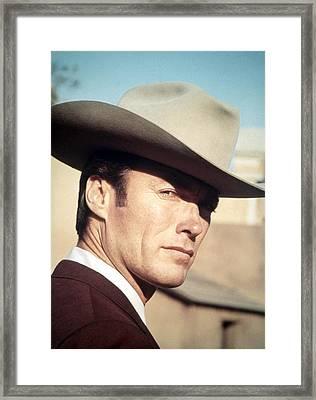 Coogans Bluff, Clint Eastwood, 1968 Framed Print