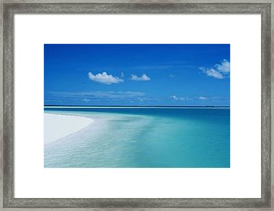 Cook Islands Framed Print by Reggie David - Printscapes