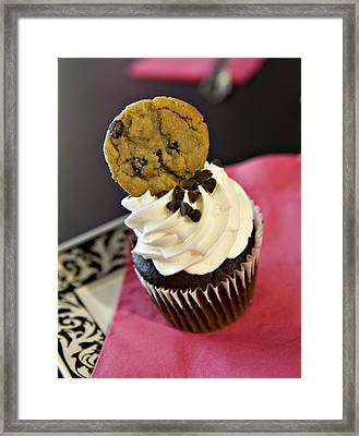 Cookie Framed Print by Malania Hammer