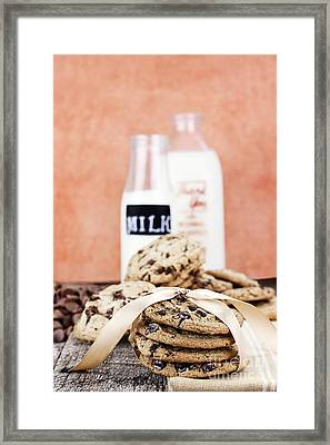 Cookies And Cream Framed Print by Stephanie Frey