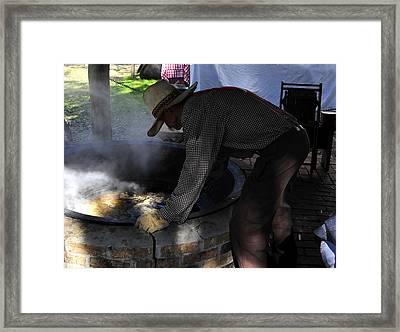 Cooking Cane Framed Print