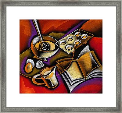 Cooking Framed Print