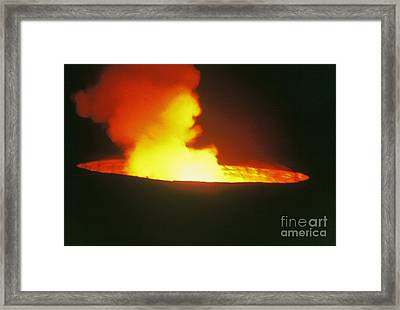 Cooking Pot Framed Print by Alcina Morello