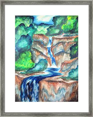 Cool Afternoons Framed Print by Cheryl Pettigrew