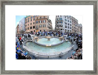 Cool Attraction Framed Print by