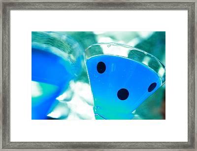 Cool Blue  Framed Print by Toni Hopper