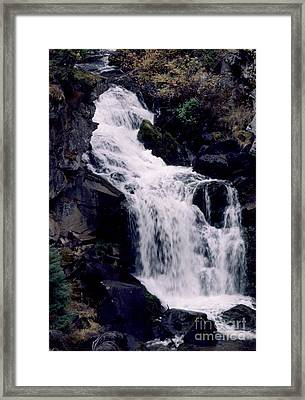 Cool Clear Waters Framed Print by Sharon Elliott
