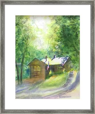 Cool Colorado Cabin Framed Print