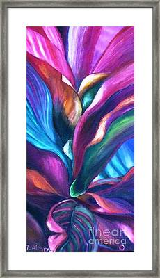 Cool Cordylines Framed Print