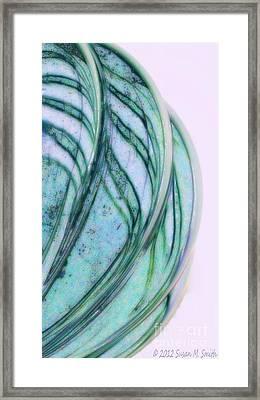 Cool Curves Framed Print