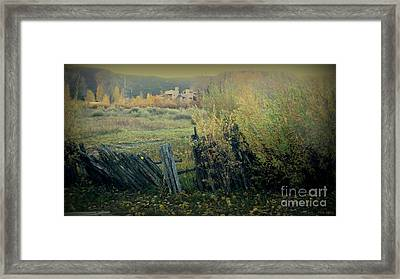 Colorado Colors - Ridgway Framed Print