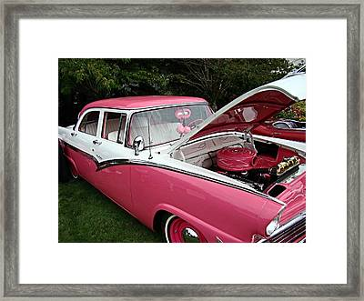Framed Print featuring the photograph Cool Ford by Nick Kloepping