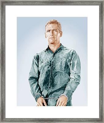 Cool Hand Luke, Paul Newman, 1967 Framed Print by Everett