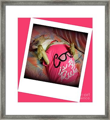 Cool Is The Rule Framed Print