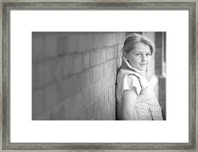 Cool Or What Framed Print by Alexander Photography